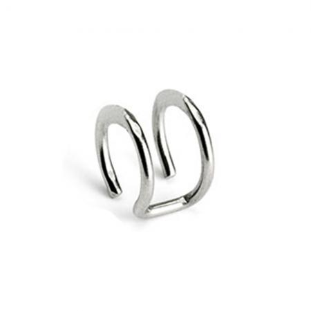 Double Ring Ear Cuff