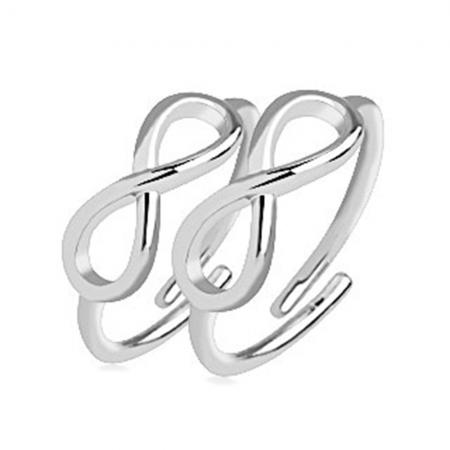 Infinity Ring Set