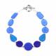 Blue Spectrum Bracelet